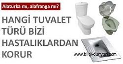 Alafranga tuvaletler mi daha sağlıklı yoksa alaturka olanlar mı? width 250 height131