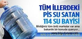Bozuk damacana su satan bayiler www.bilgi-dunyasi.com
