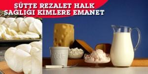 Sağlıksız ve hileli Süt,Yağ,Peynir ve Yoğurt satan firmaların listesi